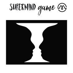 Op de afbeelding zijn zowel een witte vaas als twee zwarte gezichten die elkaar aankijken te zien. Onze hersenen kunnen de lijnen op twee manieren interpreteren. Het gekke is dat ze dit nooit gelijktijdig, maar altijd afwisselend doen. Ze zien óf een vaas, óf twee gezichten. #SUPERMINDS #mindfuck #summer #mindgame #weekend #instafun #instagame #BeSmart