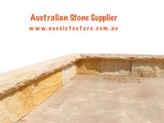 Aussietecture natural stone supplier has a unique range natural stone products for walling, flooring & landscaping. Natural Stone Cladding, Natural Stone Wall, Natural Stones, Sandstone Fireplace, Sandstone Paving, Stone Landscaping, Stone Supplier, Garden Edging, Wall Cladding
