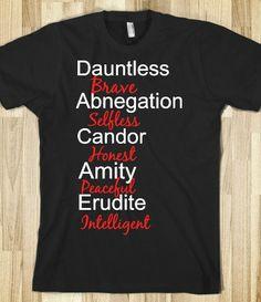Divergent Factions ~Divergent~ ~Insurgent~ ~Allegiant~