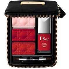 Dior 'Couture' Lip & Nail Palette (Limited Edition) ($50) found on Polyvore