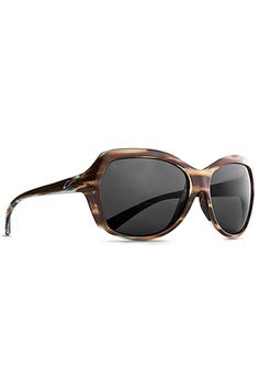 For the fashionable woman who also embraces function, Women's Shilo Sunglasses offers a smooth, sexy design that performs as well as it looks. Available in unique hand-painted finishes, this lightweight Italian-made frame curves from the slightly oversized front into slender flexible temples to fit the wearer comfortably. Adding to its comfort , the embedded Variflex nose pads securely hold this sunglass in place.