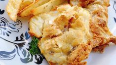 Homemade batter coats these cod fillets that are air-fried with potato wedges to recreate a classic pub meal. Frozen Fish Fillets, Air Fryer Fish, Air Fryer French Fries, Pub Food, Potato Wedges, Chips Recipe, Recipe Directions, Fish And Chips