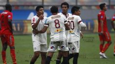 Universitario ganó en el Estadio Monumental después de 175 días  june 10, 2014.