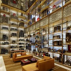 New York architect Peter Marino has completed the new flagship Louis Vuitton…