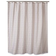 Geometric Burnout Shower Curtain Tan   Threshold™