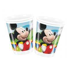 10 Disney Mickey Mouse Clubhouse Balloons 6oz Plastic Party Cups #Party https://twitter.com/BandPUSA
