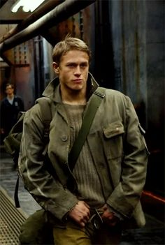 Pin for Later: 36 Charlie Hunnam GIFs That Will Make You Realize How Multifaceted He Really Is I Dare You to Take Your Eyes Off That Swagger