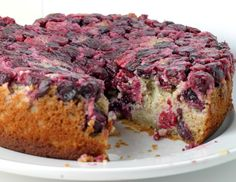 Cranberry Upside Down Cake - Comfy Belly