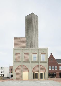 Landmark Nieuw Bergen / MONADNOCK © Stijn Bollaert Great looking facade - Simple but not minimalistic - Wonderful manipulation of bricks