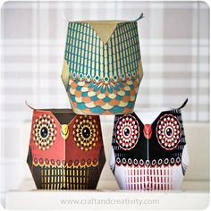 Paper owls   Flickr - Photo Sharing!