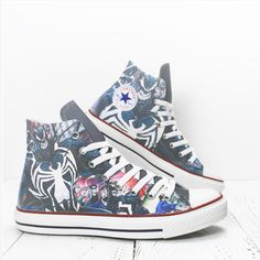 Periodic table of elements custom converse all star shoes happy venom spiderman custom converse all star high top comics character printed shoes converse casualshoes urtaz Choice Image