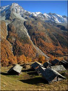 Louché, Arolla, Valais, Switzerland
