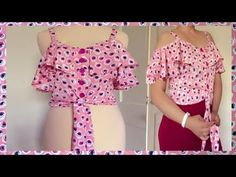 Tremendous Sewing Make Your Own Clothes Ideas. Prodigious Sewing Make Your Own Clothes Ideas. Girls Dresses Sewing, Dresses Kids Girl, Diy Clothes Tops, Clothes For Women, Stylish Tops For Women, Stitching Dresses, Sleeves Designs For Dresses, Indian Designer Suits, Kurti Designs Party Wear