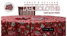 Chippa prints gives the other accesories also like table cover, bedsheet covers, pillow cover etc.