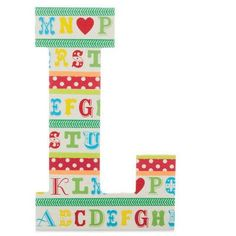 Recollections™ Washi Craft Tape Wooden Letter