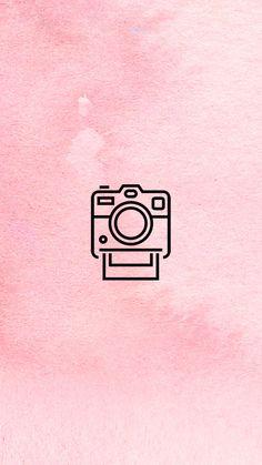5 Capas para o seu Destaque dos Stories + Como Trocar a Capa Sem Postar a Imagem Instagram Logo, Pink Instagram, Free Instagram, Instagram Story Template, Instagram Story Ideas, Instagram Feed, Pink Camera, Polaroid Camera, Camera Icon