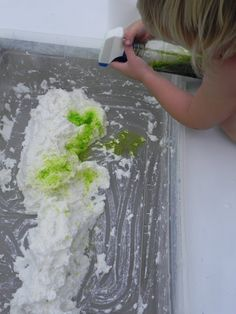 Ivory bar soap, toilet paper and water sensory activity from Play At Home Mom LLC. Sensory Tubs, Sensory Activities, Craft Activities For Kids, Learning Activities, Crafts For Kids, Sensory Play, Sensory Boxes, Daycare Crafts, Daycare Ideas