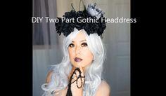 DIY Gothic Headdress Tutorial