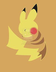 Thunderbolt! - Pikachu by kinokashi.deviantart.com on @deviantART