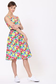 Zooey Dress - Botanical