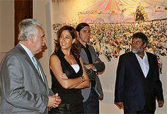 La alcaldesa de inaugura la exposición del IV Premio de Pintura Jesús Bárcenas que estará en el Museo López Villaseñor hasta el 23 de octubre - Noticias de Ciudad Real - La Cerca