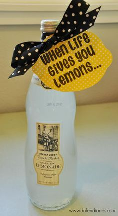 For when life gives you lemons….