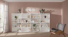 CASE bookcase - premium quality book shelving unit ✔ for Home + Office ✔ Hertel & Klarhoefer design ✔ Immediate dispatch ✔ Find out more here! Shelf Board, A Shelf, Bookshelves, Bookcase, 4x4, Side Wall, File Folder, Home Office, Shelving