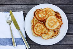 gluten and dairy-free, coconut flour pancakes. (this recipe is brought to you by Boxed.com and Paypal) #goopmake #goopholidaysurvival
