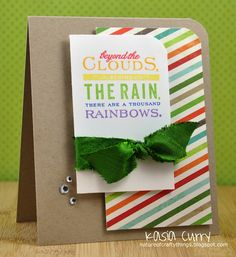 beyond the clouds, behind the rain, there are a thousand rainbows.