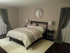 Portland gray Benjamin moore. Master bedroom!