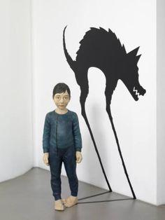 "Saatchi Art Artist Yasam  Sasmazer; , ""Treacherous wolf"" #art"