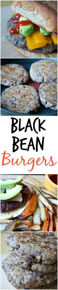 Black Bean Burgers | tomatoboots.co | #simple #homemade