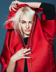 Candice Swanepoel by Kai Z Feng for Elle UK December 2013
