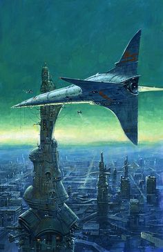 Terminal 555 by Les Edwards: http://www.lesedwards.com/galleries/science-fiction/103/