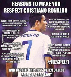 cristiano ronaldo That's why he's the best and messi is second! Soccer Memes, Football Quotes, Soccer Quotes, Sport Quotes, Cristiano Ronaldo Quotes, Cristano Ronaldo, Cristiano Ronaldo Juventus, Ronaldo Memes, Neymar Jr