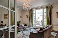 Haven in Paris : Luxury Vacation Apartment Rental: Victor Hugo Luxe, Trocadero Apartment Rental Paris Apartment Rentals, Parisian Apartment, Bedroom Apartment, Apartment Living, Vacation Apartments, Paris Apartments, Rental Apartments, Luxury Apartments, Paris Living Rooms