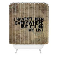 Leah Flores Everywhere Shower Curtain | DENY Designs Home Accessories