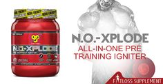 BSN N.O.Xplode 2.0 is one of the best pre-workout supplements.