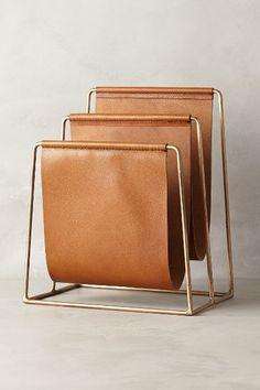 Saddle Ring Desk Collection - anthropologie.com desk filing