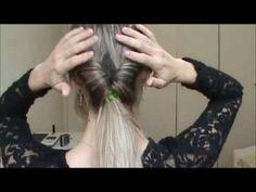 Penteado Fácil, Prático e Rápido - Readaptação - YouTube