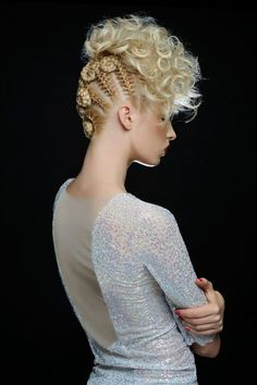 Hair makeup editorial hairstyles Ideas - Hair makeup editorial hairstyles Ideas - - https: Creative Hairstyles, Up Hairstyles, Braided Hairstyles, Avant Garde Hairstyles, Braided Updo, Hairstyle Ideas, Pelo Editorial, Makeup Editorial, High Fashion Hair