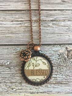 Blessed Necklace by WildRoseMN on Etsy