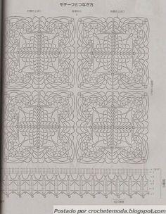 GRAFICO Crochetemoda: Blusas