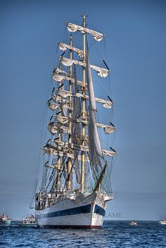 Tall Ship -  Falmouth Harbour