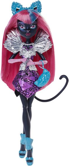 York Boo Monster High City Schemes Catty Noir Doll Mattel Xmas Gift Toy 2015 for sale online New Monster High Dolls, Monster High Party, History Cartoon, Personajes Monster High, Hello Kitty, Blue Mascara, Catty Noir, Silver Eyeshadow, Mattel