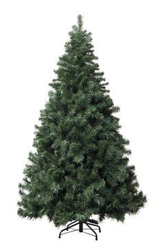7' Green Douglas Fir Artificial Christmas Tree with Stand
