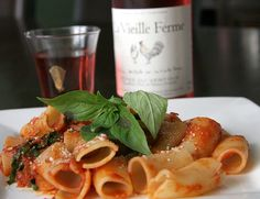 Simply, A Summer Lunch by Mark ~ JerseyStyle Photography, via Flickr La Vieille Ferme wine