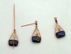 Free Wire Wrap Jewelry Patterns | ... Free Wire Jewelry Pattern by Marty Blu for Wire-Sculpture.com