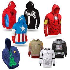 Moletons de Super-herois