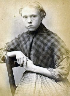 Mary Hinnigan, 13, had to do seven days of hard labor after she was caught stealing iron with her friends http://www.businessinsider.com/mugshots-of-kids-from-the-1800s-2013-11